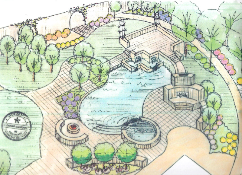 Landscape designs by our licensed landscape architect 5 for Landscape blueprints