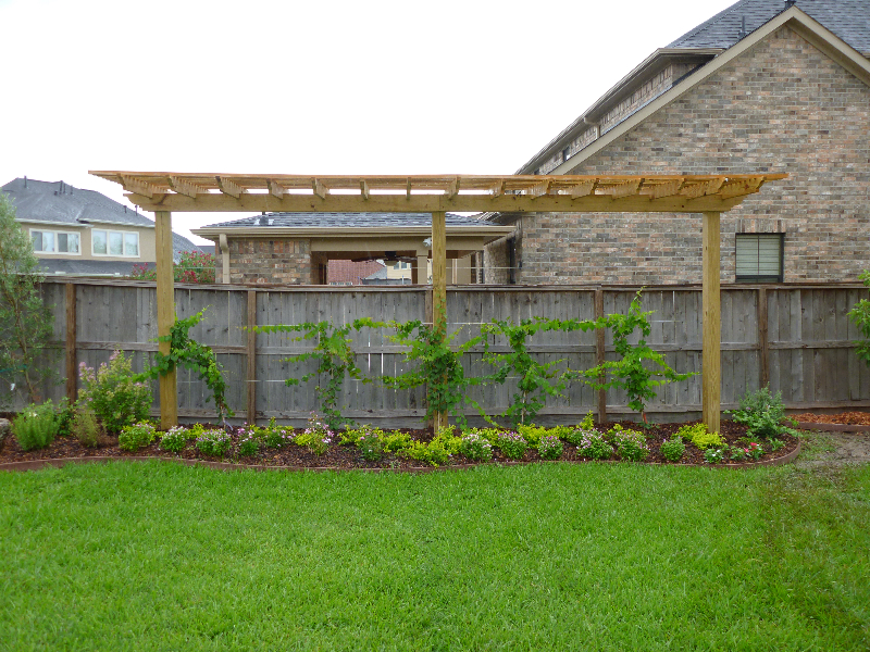 Backyard Landscaping Houston Texas